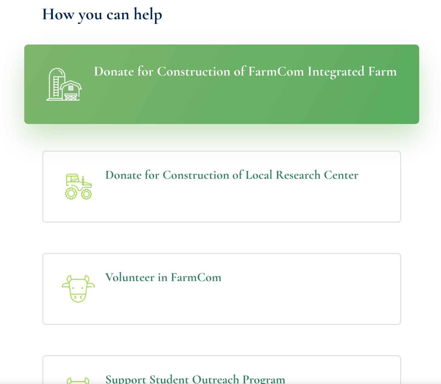 Farmcom.org Snapshot